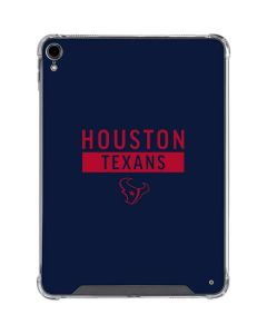 Houston Texans Blue Performance Series iPad Pro 11in (2018-19) Clear Case
