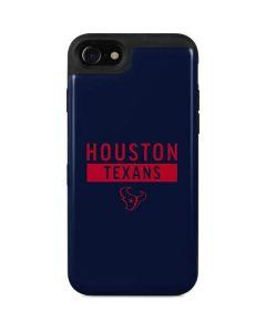 Houston Texans Blue Performance Series iPhone SE Wallet Case