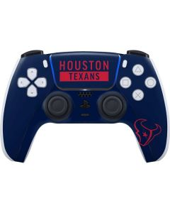 Houston Texans Blue Performance Series PS5 Controller Skin