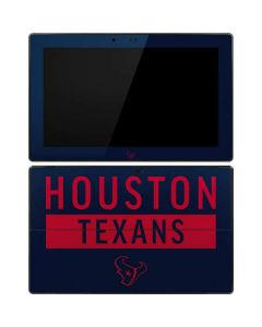 Houston Texans Blue Performance Series Surface RT Skin
