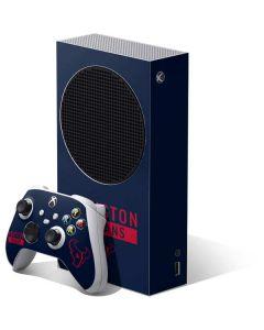 Houston Texans Blue Performance Series Xbox Series S Bundle Skin