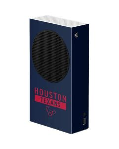 Houston Texans Blue Performance Series Xbox Series S Console Skin