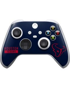 Houston Texans Blue Performance Series Xbox Series S Controller Skin