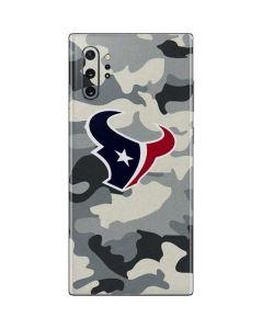 Houston Texans Camo Galaxy Note 10 Plus Skin