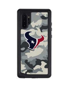 Houston Texans Camo Galaxy Note 10 Plus Waterproof Case