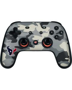 Houston Texans Camo Google Stadia Controller Skin