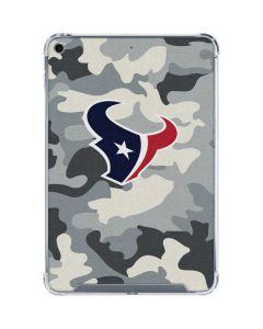 Houston Texans Camo iPad Mini 5 (2019) Clear Case