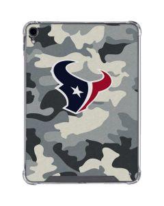 Houston Texans Camo iPad Pro 11in (2018-19) Clear Case