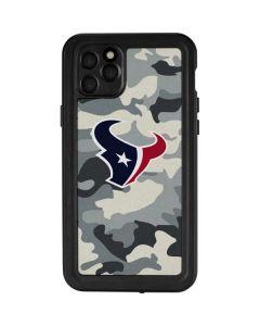 Houston Texans Camo iPhone 11 Pro Max Waterproof Case