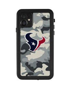 Houston Texans Camo iPhone 11 Waterproof Case