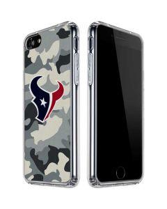 Houston Texans Camo iPhone SE Clear Case