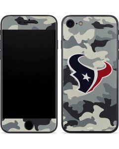 Houston Texans Camo iPhone SE Skin