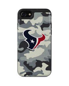 Houston Texans Camo iPhone SE Wallet Case