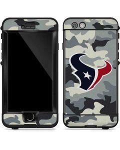 Houston Texans Camo LifeProof Nuud iPhone Skin