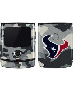Houston Texans Camo Motorola RAZR Skin