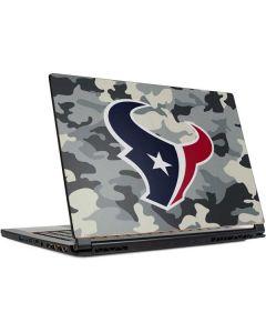 Houston Texans Camo MSI GS65 Stealth Laptop Skin