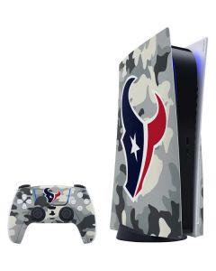 Houston Texans Camo PS5 Bundle Skin