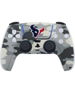 Houston Texans Camo PS5 Controller Skin