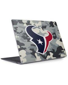 Houston Texans Camo Surface Laptop 3 13.5in Skin