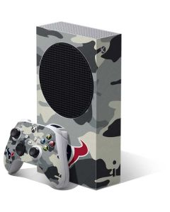Houston Texans Camo Xbox Series S Bundle Skin