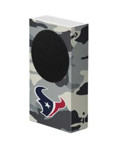 Houston Texans Camo Xbox Series S Console Skin