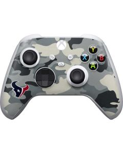 Houston Texans Camo Xbox Series S Controller Skin