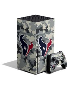 Houston Texans Camo Xbox Series X Bundle Skin