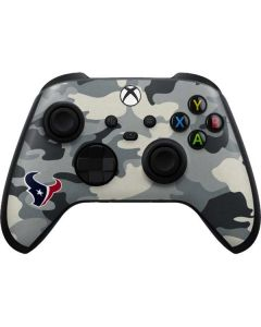 Houston Texans Camo Xbox Series X Controller Skin