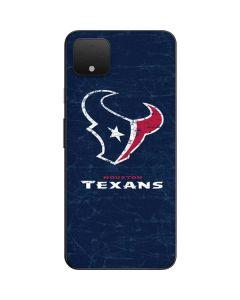 Houston Texans Distressed Google Pixel 4 XL Skin