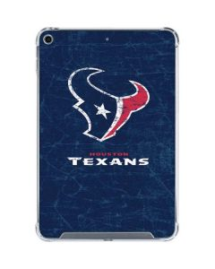 Houston Texans Distressed iPad Mini 5 (2019) Clear Case