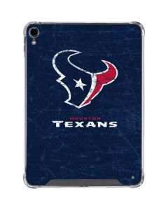 Houston Texans Distressed iPad Pro 11in (2018-19) Clear Case