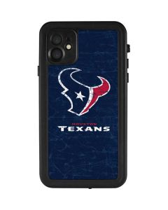 Houston Texans Distressed iPhone 11 Waterproof Case
