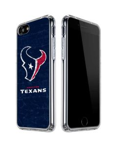 Houston Texans Distressed iPhone SE Clear Case