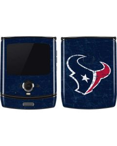 Houston Texans Distressed Motorola RAZR Skin