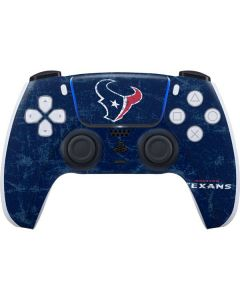 Houston Texans Distressed PS5 Controller Skin