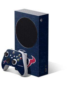 Houston Texans Distressed Xbox Series S Bundle Skin