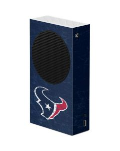 Houston Texans Distressed Xbox Series S Console Skin