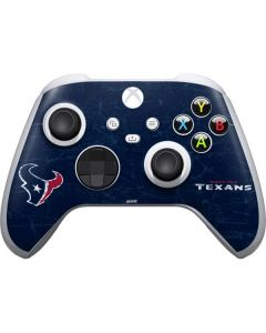 Houston Texans Distressed Xbox Series S Controller Skin