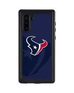Houston Texans Double Vision Galaxy Note 10 Waterproof Case