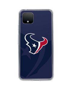 Houston Texans Double Vision Google Pixel 4 Clear Case