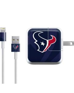 Houston Texans Double Vision iPad Charger (10W USB) Skin