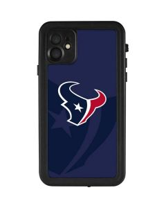 Houston Texans Double Vision iPhone 11 Waterproof Case