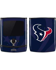Houston Texans Double Vision Motorola RAZR Skin
