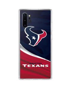 Houston Texans Galaxy Note 10 Plus Clear Case