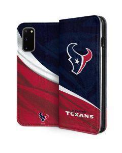 Houston Texans Galaxy S20 Folio Case