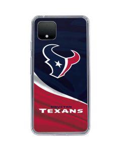 Houston Texans Google Pixel 4 Clear Case
