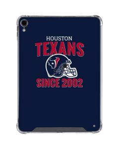 Houston Texans Helmet iPad Pro 11in (2018-19) Clear Case