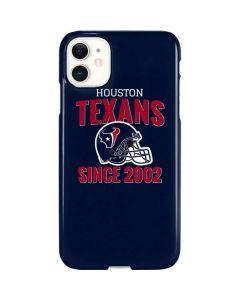 Houston Texans Helmet iPhone 11 Lite Case