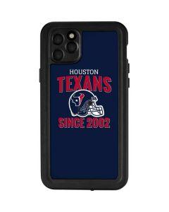 Houston Texans Helmet iPhone 11 Pro Max Waterproof Case