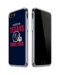 Houston Texans Helmet iPhone SE Clear Case